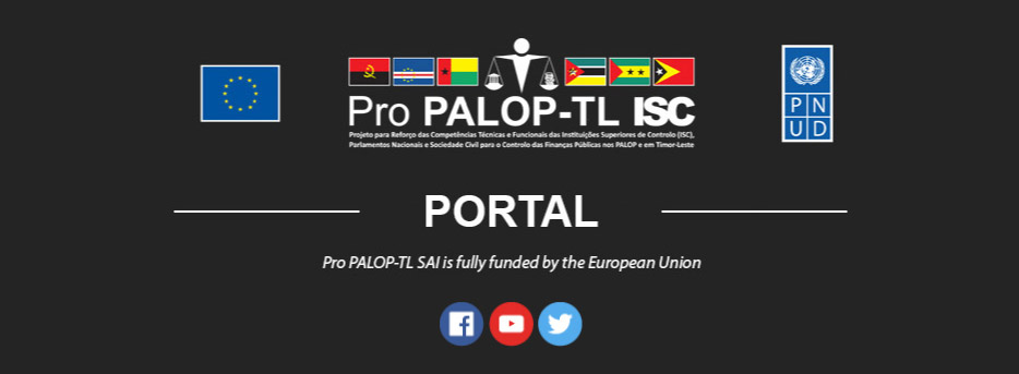 The Pro PALOP-TL SAI project promoted economic governance in ACP Portuguese Speaking Countries (PALOP and Timor-Leste) and strengthened the technical and functional competencies of the Supreme Audit Institutions, Parliaments, and Civil Society in the field of public financial management.