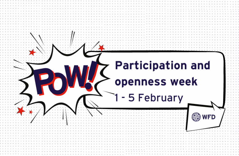 Participation and openness week 1 - 5 February 2021 (Poster)